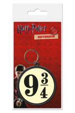 Harry Potter Gumový Keychain 9 3/4 6 cm
