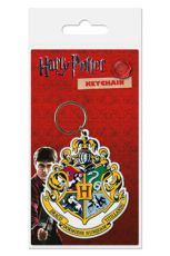 Harry Potter Gumový Keychain Hogwart's Crest 6 cm Pyramid International