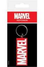Marvel Comics Gumový Keychain Logo 6 cm