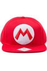 Nintendo Baseballová Kšiltovka M Logo