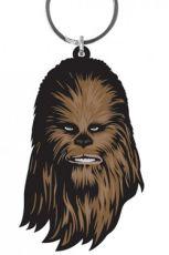 Star Wars Gumový Keychain Chewbacca 6 cm