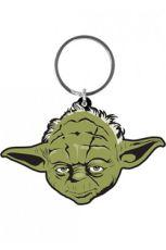 Star Wars Gumový Keychain Yoda 6 cm Pyramid International