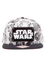 Star Wars Snap Back Baseballová Kšiltovka Comic Style
