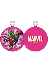 Marvel Comics Ornament Characters Pink Snowflake