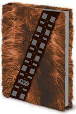Star Wars Premium Poznámkový Blok A5 Chewbacca Fur