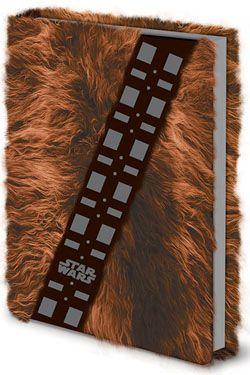 Star Wars Premium Poznámkový Blok A5 Chewbacca Fur Pyramid International
