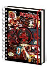 Marvel Comics Poznámkový Blok A5 Deadpool