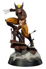 Marvel Premium Format Figure 1/4 Wolverine Brown Kostým 50 cm