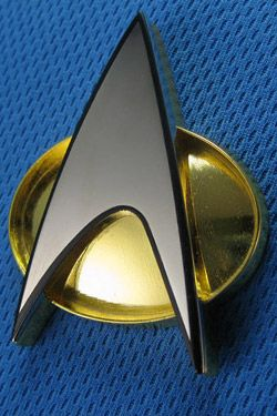 Star Trek TNG Replika 1/1 Communicator Odznak Starfleet