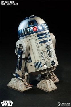Star Wars Akční Figure 1/6 R2-D2 17 cm Sideshow Collectibles