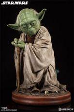 Star Wars Životní Velikost Soška Yoda 81 cm