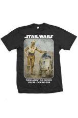 Star Wars Tričko Droids Velikost L