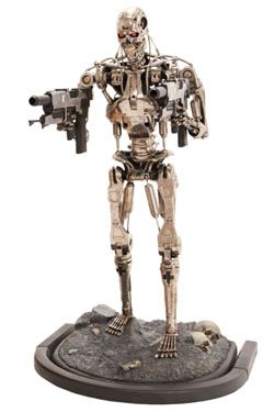 Terminator 2 Soška 1/1 T-800 Endoskeleton Verze 2 190 cm Sideshow Collectibles