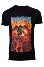 Doom Tričko Classic Boxart Velikost M