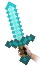 Minecraft Foam Replika 1/1 Diamond Sword 65 cm