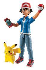 Pokemon Akční Figurky 2-Pack Ash & Pikachu