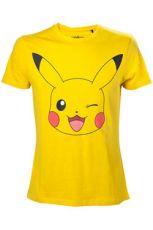 Pokemon Tričko Pikachu Winking  Velikost L
