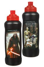 Star Wars Episode VII Water Bottle Characters