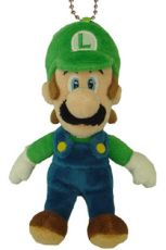 Super Mario Bros. Plyšák Mascot Luigi 14 cm