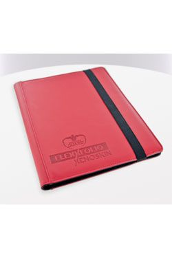 Ultimate Guard Flexxfolio 360 - 18-Pocket XenoSkin Red