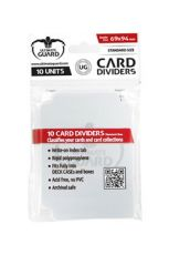 Ultimate Guard Card Dividers Standard Velikost Transparent (10)