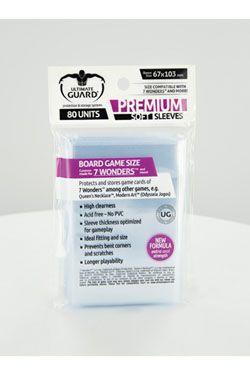 Ultimate Guard Premium Soft Sleeves for Board Game Karty 7 Wonders