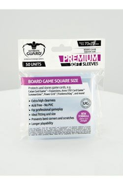 Ultimate Guard Premium Soft Sleeves for Board Game Karty Square (50)