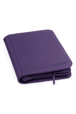 Ultimate Guard Zipfolio 160 - 8-Pocket XenoSkin Purple