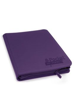 Ultimate Guard Zipfolio 320 - 16-Pocket XenoSkin Purple