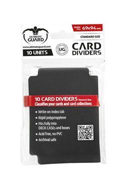 Ultimate Guard Card Dividers Standard Velikost Black (10)