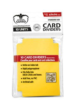 Ultimate Guard Card Dividers Standard Velikost Yellow (10)