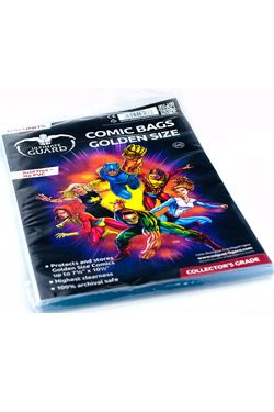 Ultimate Guard Comic Bags Golden Velikost (100)