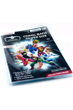 Ultimate Guard Comic Bags Silver Velikost (100)