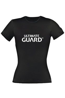 Ultimate Guard Dámské Tričko Wordmark Black Velikost S