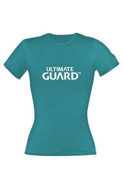 Ultimate Guard Dámské Tričko Wordmark Petrol Blue Velikost XXL