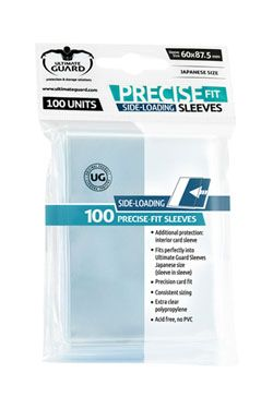 Ultimate Guard Precise-Fit Sleeves Side-Loading Japanese Velikost Transparent (100)