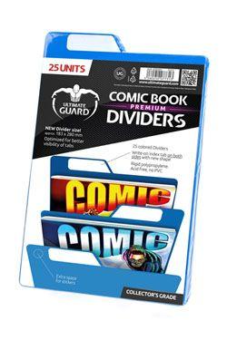 Ultimate Guard Premium Comic Book Dividers Blue (25)