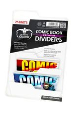 Ultimate Guard Premium Comic Book Dividers White (25)