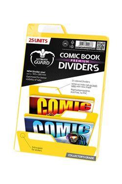 Ultimate Guard Premium Comic Book Dividers Yellow (25)