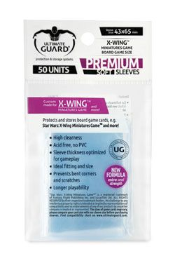 Ultimate Guard Premium Soft Sleeves for Board Game Karty Star Wars