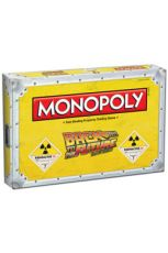 Back to the Future Board Game Monopoly Anglická Verze