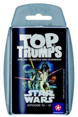 Star Wars IV-VI Top Trumps Německá Verze