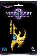 StarCraft II Nálepka 2-Pack Protoss