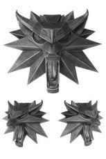 Witcher 3 Wild Hunt Wolf Nástěnná Skulptura 15 x 15 cm