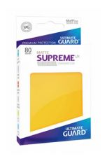 Ultimate Guard Supreme UX Sleeves Standard Velikost Matte Yellow (80)