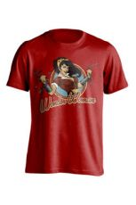DC Comics Bombshells Tričko Wonder Woman Velikost S
