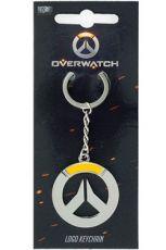 Overwatch Metal Přívěsek na klíče Logo