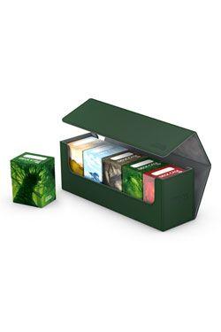 Ultimate Guard Arkhive Flip Case 400+ Standard Velikost XenoSkin&trade. Green
