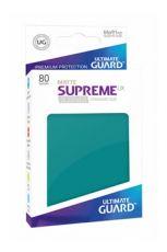 Ultimate Guard Supreme UX Sleeves Standard Velikost Matte Petrol Blue (80)