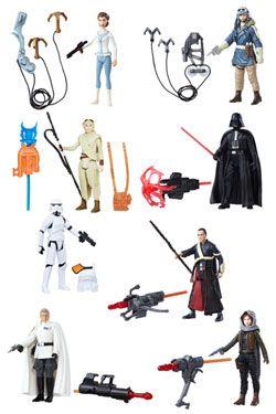 Star Wars Universe Akční Figures 10 cm 2016 Wave 2 Sada (12)